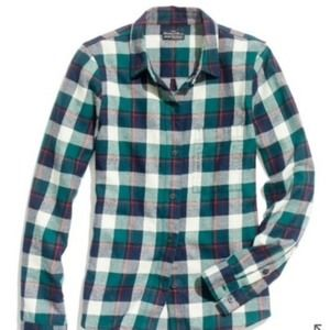 Madewell Broadway & Broome Country Flannel Shirt